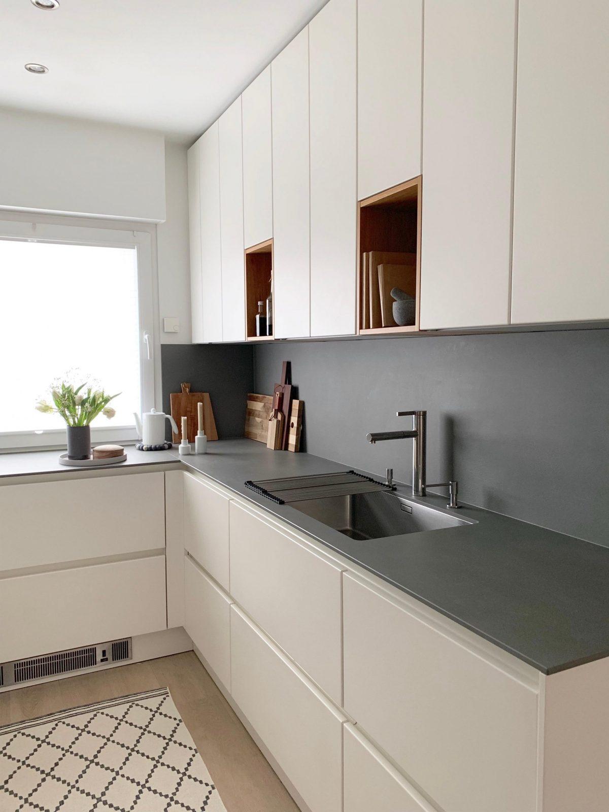Kleine Küchen Größer Machen So Geht's von Küche Kleiner Raum Modern Bild