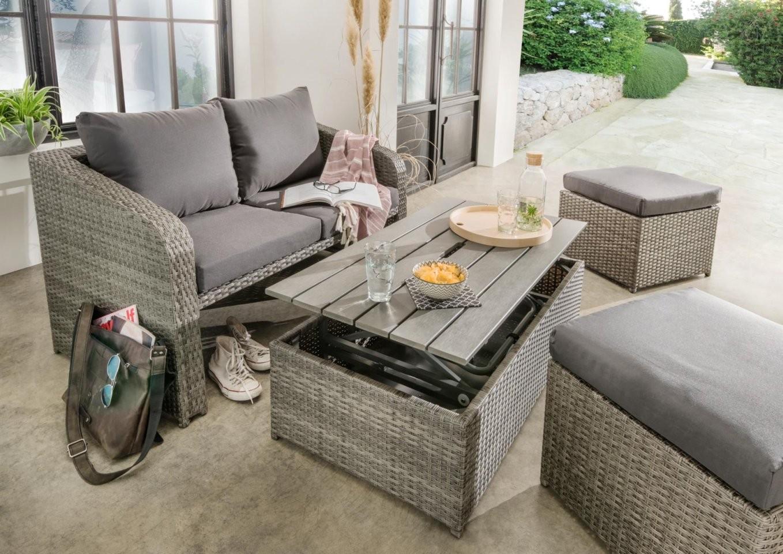 Kleine Loungegruppen Für Den Balkon  Haus  Garten Onlineshop von Tisch Für Kleinen Balkon Photo