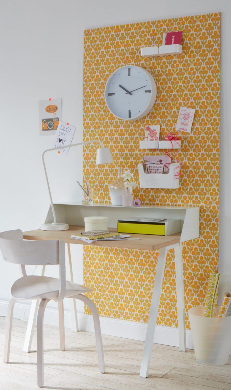 Kleine Schreibtische Können Mehr  Diewohnblogger von Kleine Schreibtische Für Wenig Platz Bild