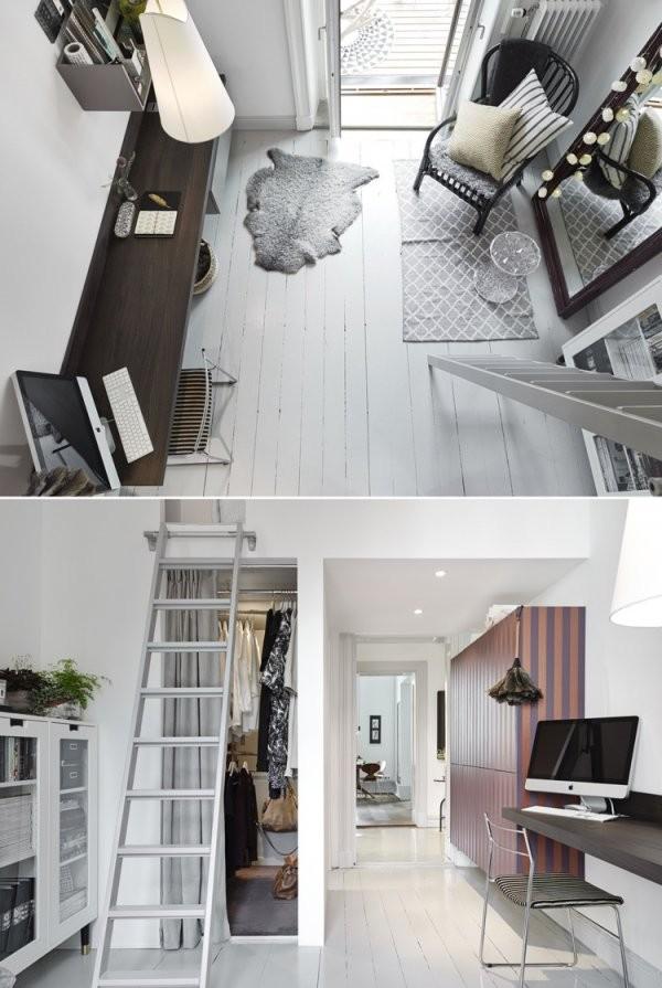 Kleine Wohnung Einrichten  30 Ideen Für Optimale Raumnutzung von Kleine Wohnung Einrichten Tipps Photo