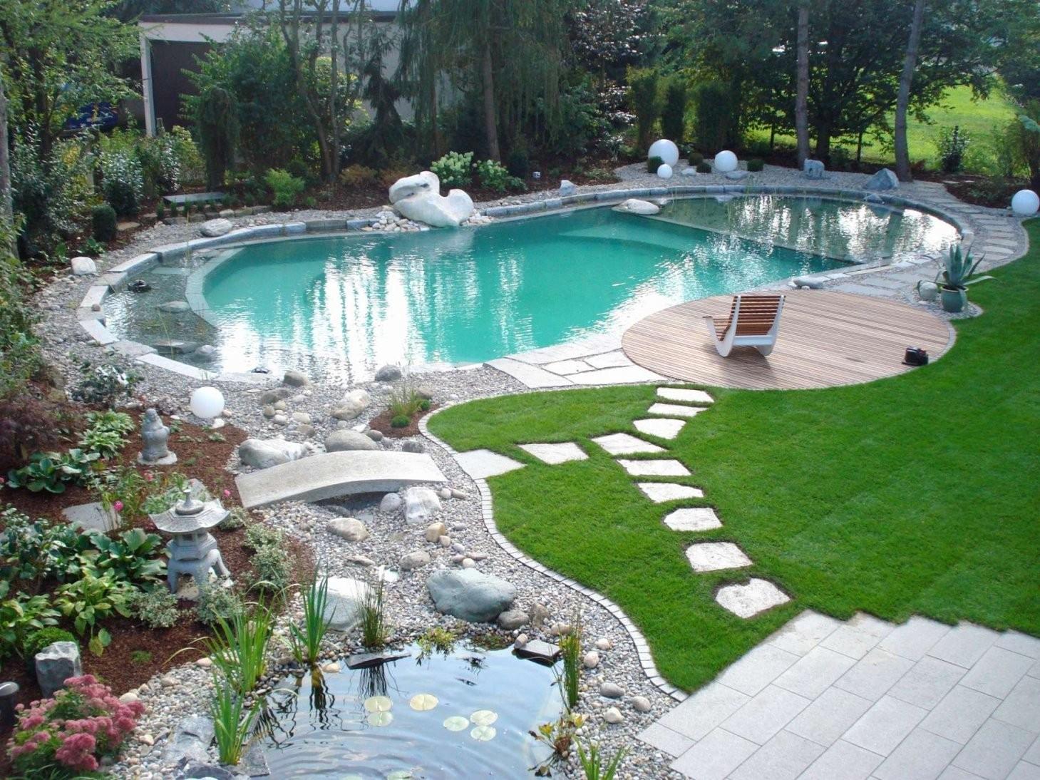 Kleiner Garten Mit Pool Gestalten Einzigartig Gartengestaltung Mit von Garten Gestalten Mit Pool Photo
