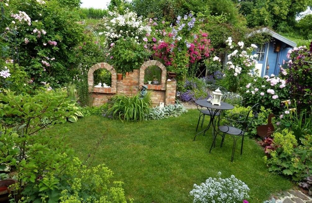 Kleiner Garten Unzählige Gestaltungsmöglichkeiten von Kleine Gärten Gestalten Praktische Lösungen Bild