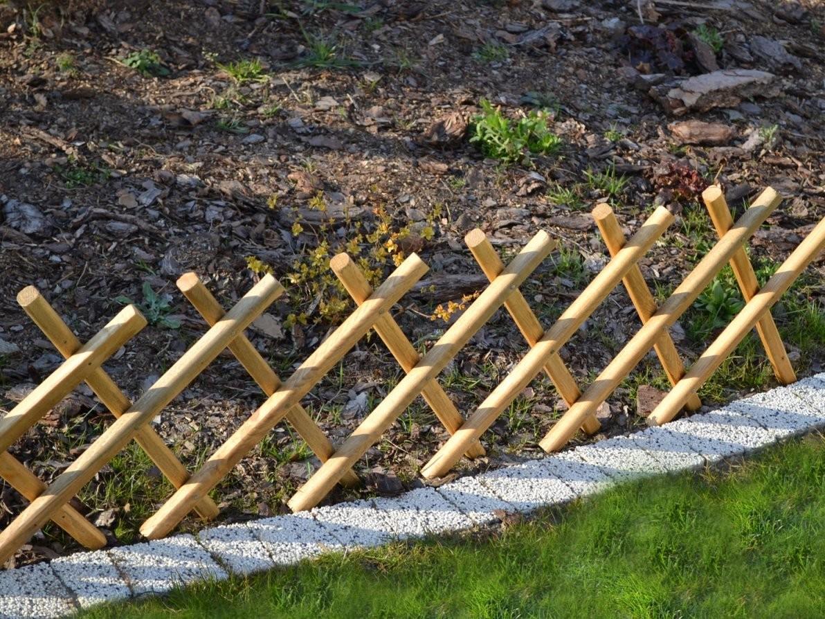 Kleiner Gartenzaun von Kleiner Zaun Für Vorgarten Bild