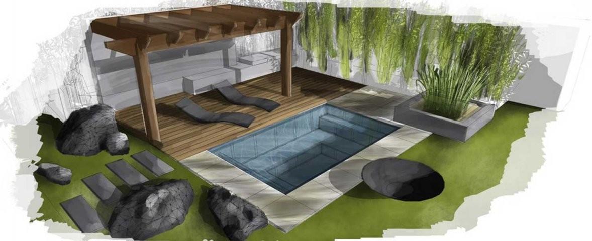 Kleiner Pool Im Garten  Pool Für Kleine Grundstücke von Kleiner Pool Im Garten Selber Bauen Bild