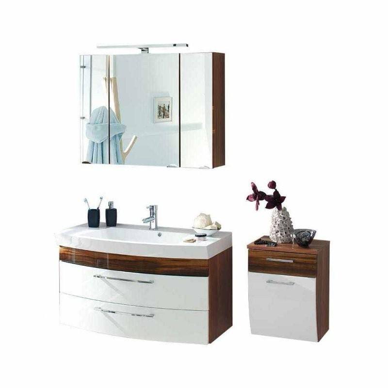 Kleines Badezimmer Set Mit Waschplatz Badajoz  Wohnen von Spiegelschrank Für Kleines Bad Photo