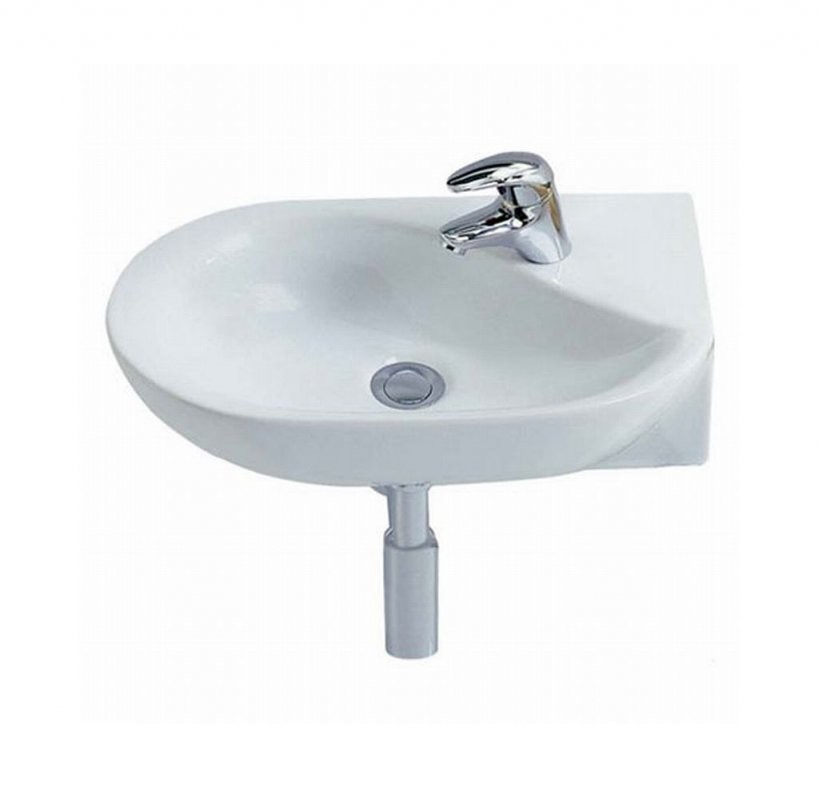 Kleines Handwaschbecken Gäste Wc Für Die Eckmontage Geeignet von Waschbecken 30 Cm Tief Bild