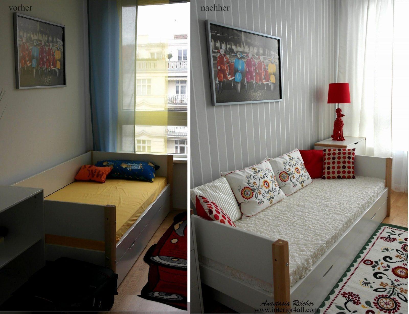 Kleines Kinderzimmer Mit Dachschräge Einrichten von Kleines Kinderzimmer Mit Dachschräge Photo