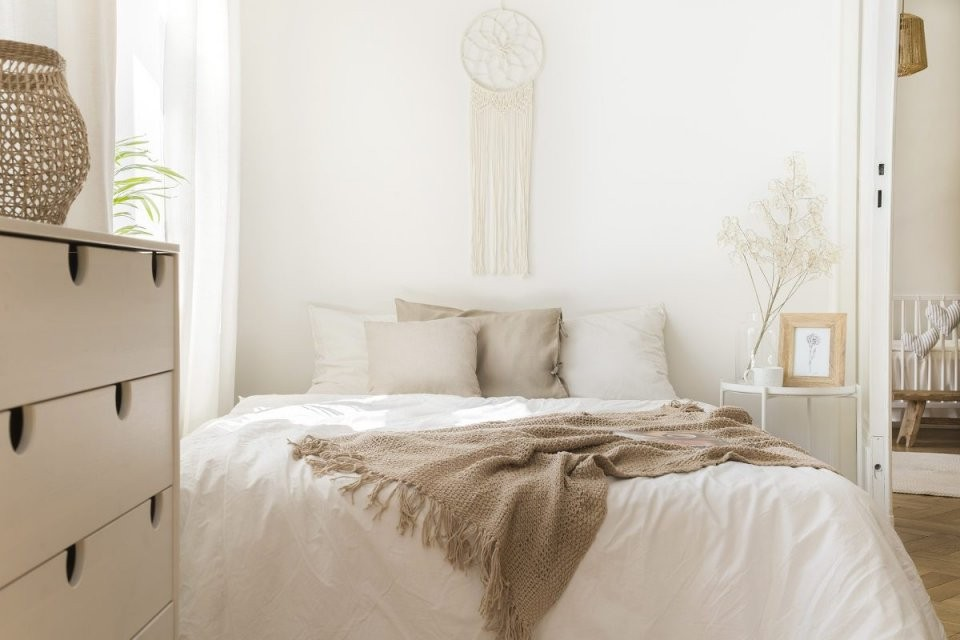 Kleines Schlafzimmer Einrichten  15+ Einrichtungsideen  Tricks von Schlafzimmer Ideen Kleine Räume Bild