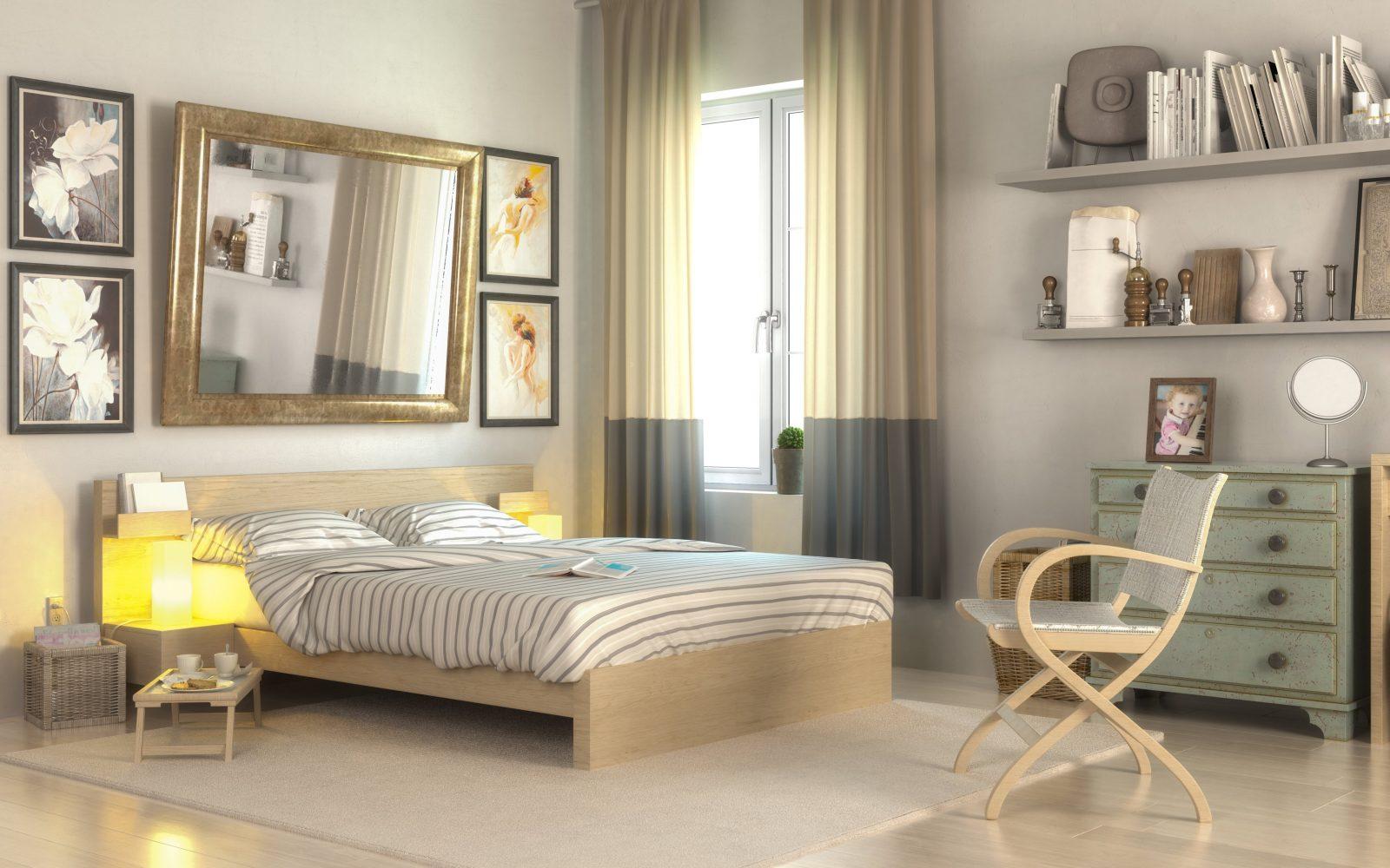 Kleines Schlafzimmer Einrichten So Können Sie Den Platz Optimal Nutzen von Kleiderschrank Ideen Kleines Zimmer Bild