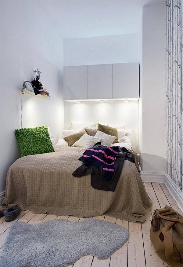 Kleines Schlafzimmer Einrichten  Tipps Und Ideen von Ideen Für Kleine Schlafzimmer Bild
