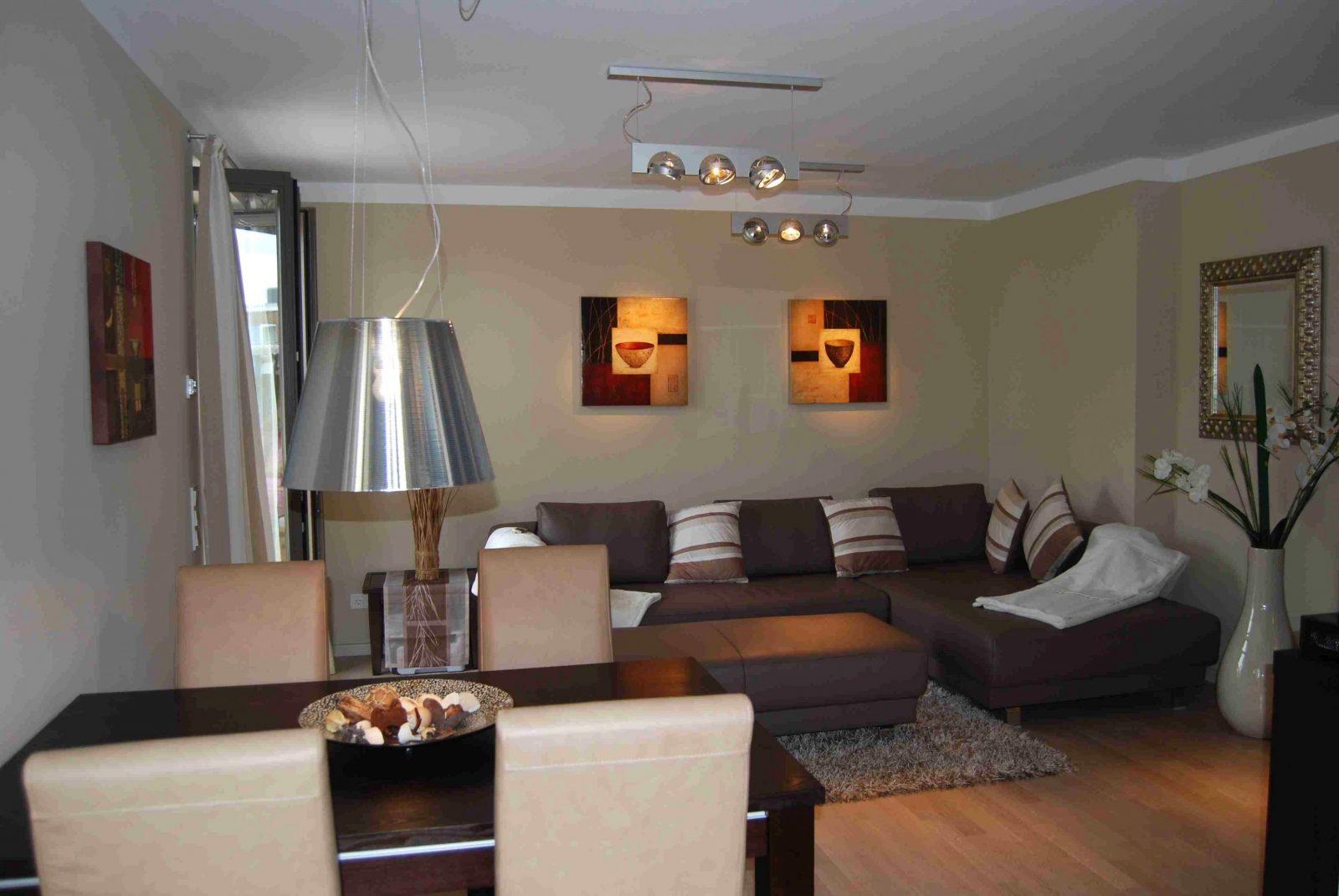 Kleines Wohnzimmer Mit Essbereich Einrichten  Ideen Zum Streichen von Kleines Wohnzimmer Mit Essbereich Einrichten Bild
