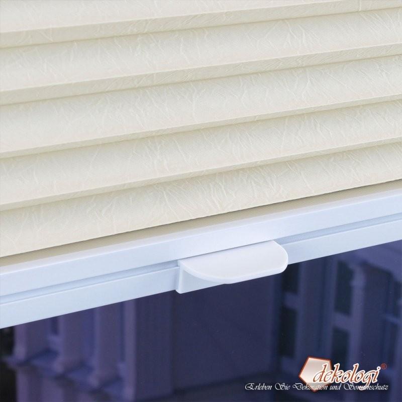 Klemmfixplissee Lichtdurchlässig Verspannt  Ohn  Dekologi von Roto Dachfenster Plissee Ohne Bohren Bild