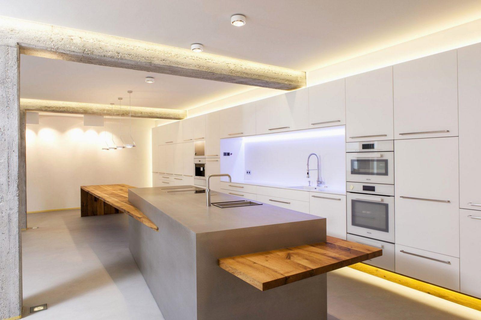 Kochinsel Mit Integriertem Esstisch Regelmäßige Brillant Ideen von Küche Mit Integriertem Tisch Bild