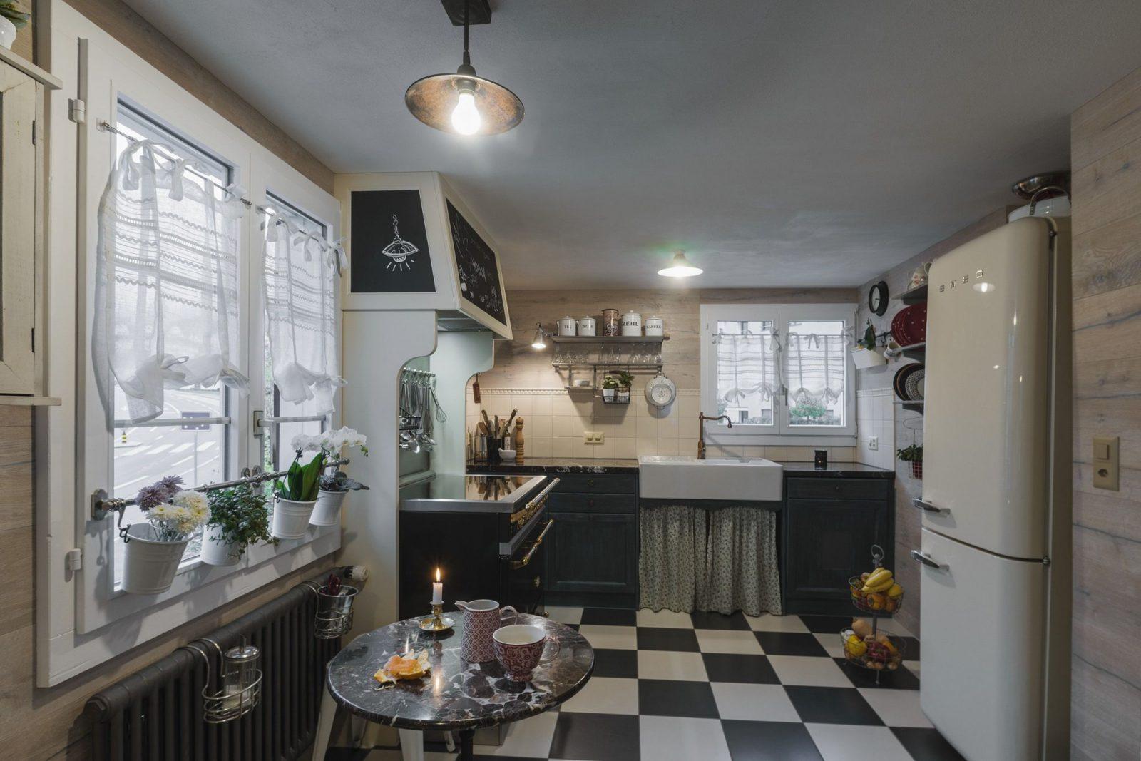 Koller Küche Front Vintage Stil Gestrichen Und Gestämmt von Küchen Im Vintage Stil Photo