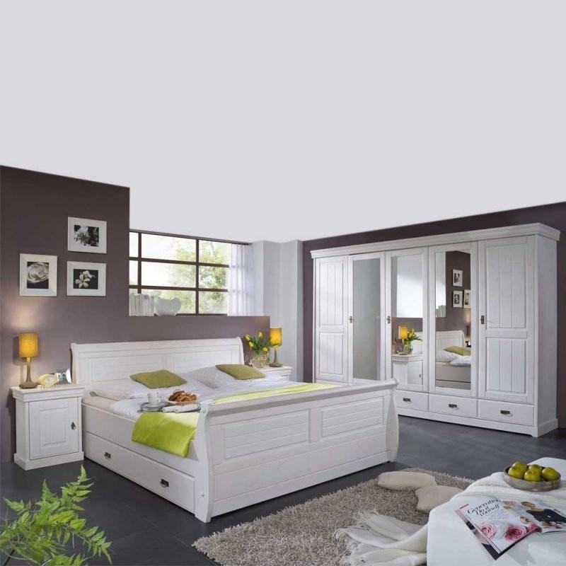 Komplett Schlafzimmer Im Landhausstil Janeira I Wohnen von Schlafzimmer Im Landhausstil Weiß Bild
