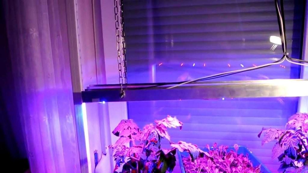 Konstruktion Meiner Led Pflanzenbeleuchtung  Youtube von Led Grow Lampe Selber Bauen Bild