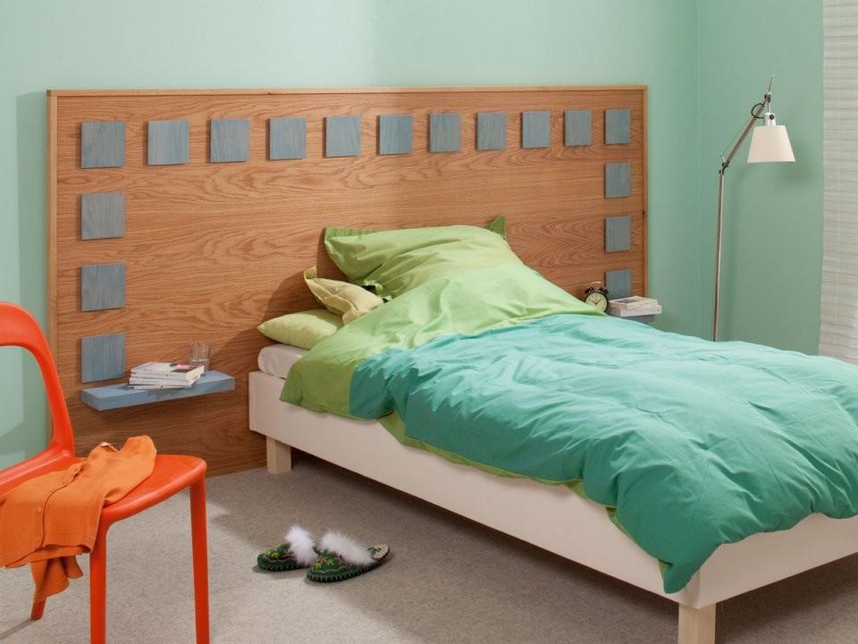 Kopfteile Für's Bett Selber Bauen 3 Ideen von Rückwand Bett Selber Bauen Bild