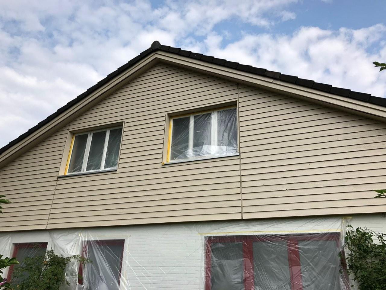 Kosten Fassade Streichen Lassen  Malerbetrieb  Profimaler Hamburg von Fassade Streichen Kosten Pro Qm Bild