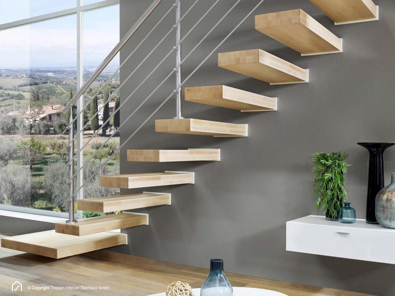 Kragstufentreppen Hier Online Kaufen  Treppen Intercon von Treppe An Der Wand Photo