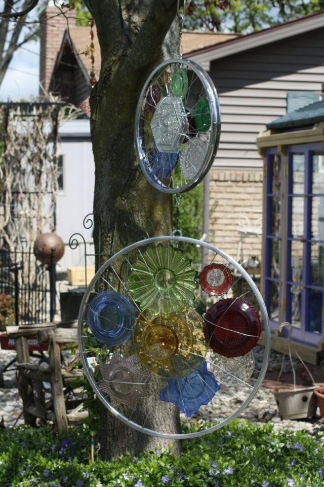 Kreative Gartenideen –Deko Aus Altem Fahrrad Selber Machen von Kreative Gartengestaltung Selber Machen Bild
