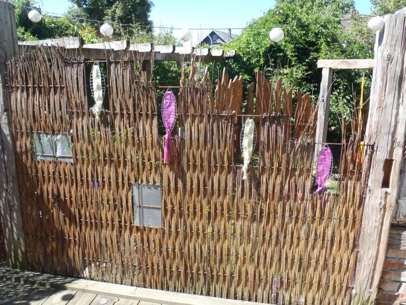 Kreativer Sichtschutz Für Den Garten  Haus Ideen von Kreativer Sichtschutz Selber Bauen Photo