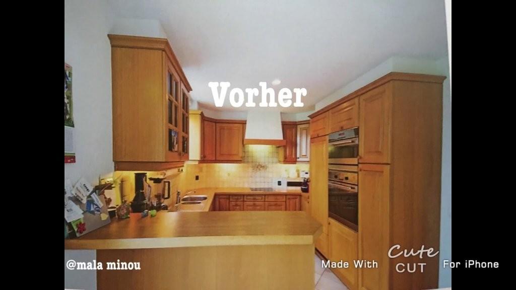 Küche Eiche Rustikal Weiß Streichen  Youtube von Küche Eiche Rustikal Streichen Bild