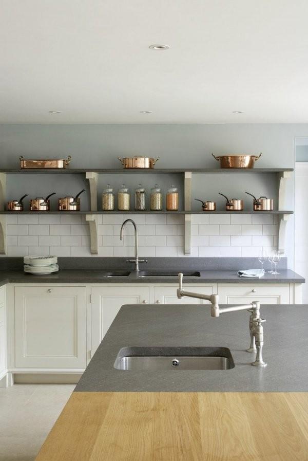 Küche Im Landhausstil Modern Gestalten  34 Raum Ideen von Küche Im Landhausstil Gestalten Bild