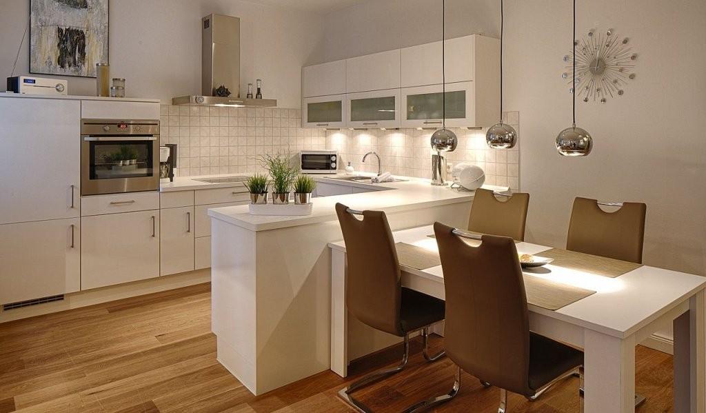 Küche Mit Integriertem Tisch  Küche In 2019  Küche Tisch Tisch von Küche Mit Integriertem Tisch Photo