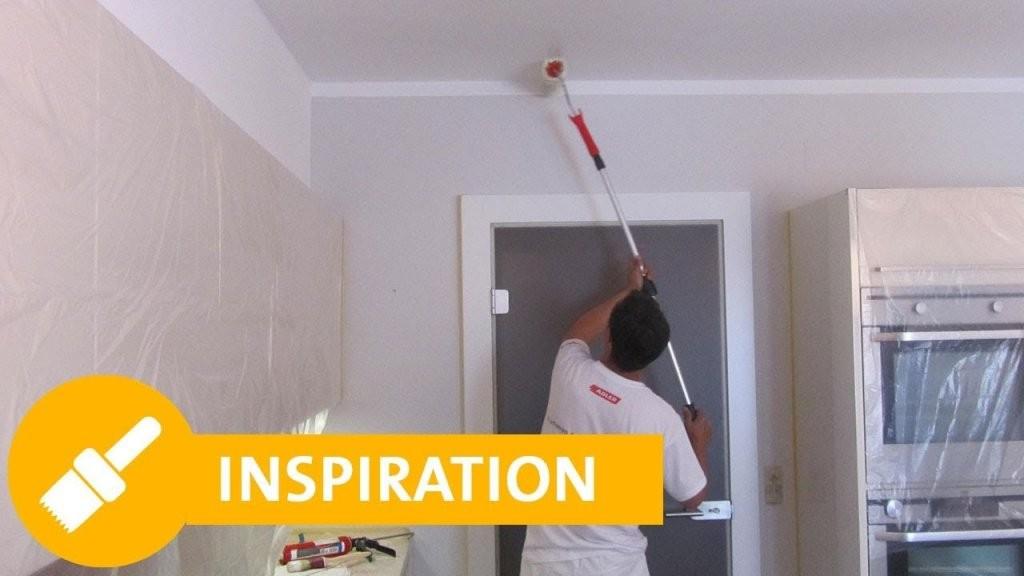 Küche Streichen  Adler  Youtube von Wände Streichen Ideen Küche Photo