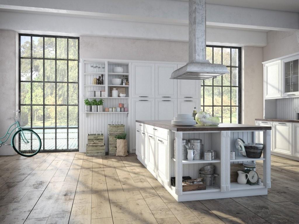 Küche Und Bad Im Partnerlook Eingerichtet von Küchen Im Vintage Stil Photo