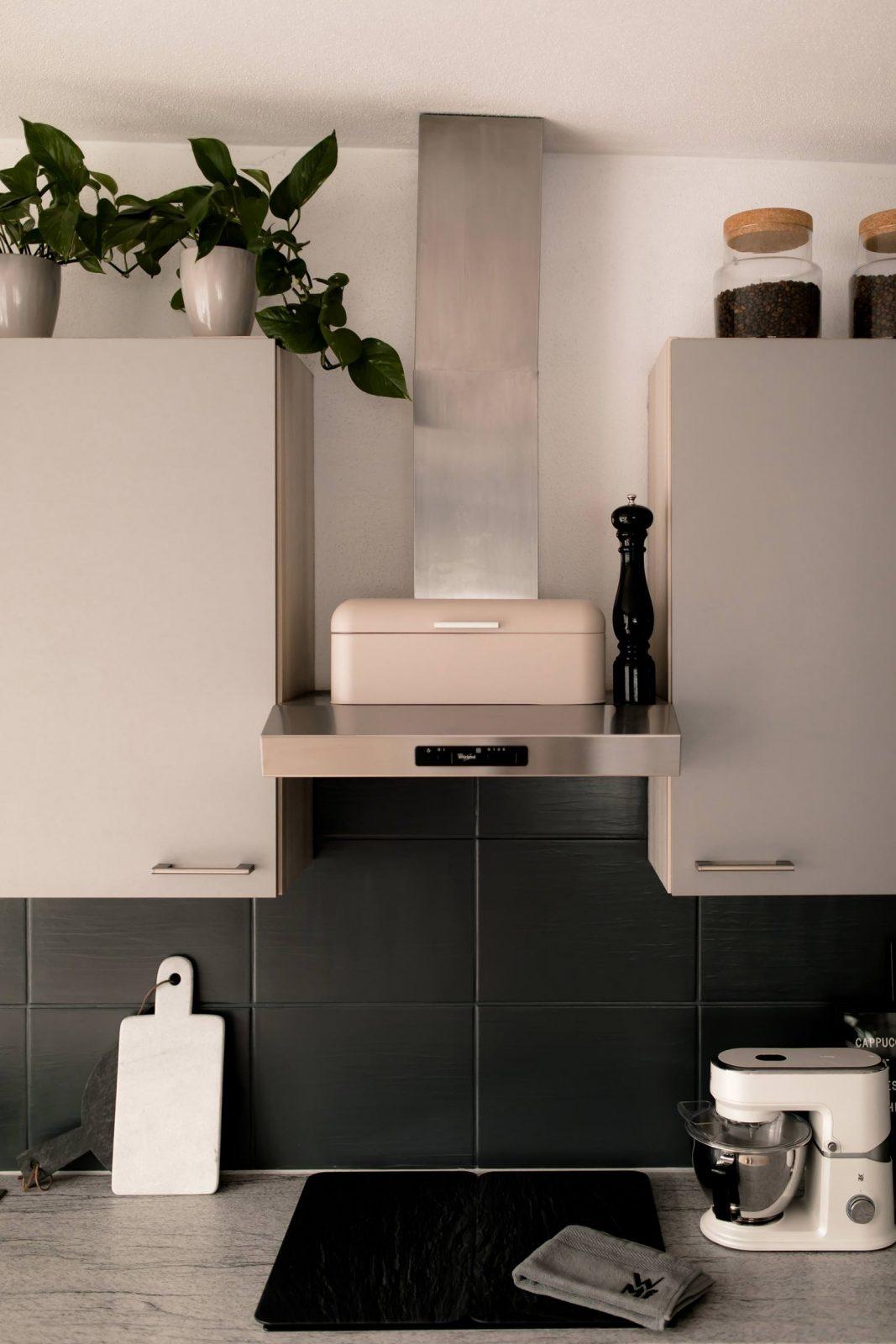 Küche Verschönern Mit Wenig Aufwand Mein Küchenmakeover Inkl von Küche Neu Gestalten Renovieren Photo