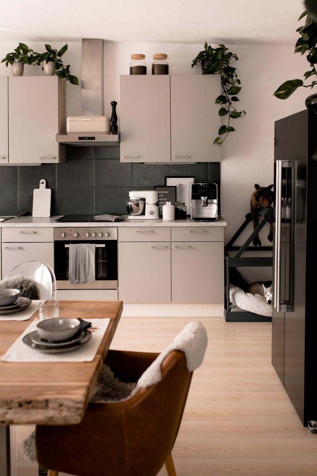 Küche Verschönern Mit Wenig Aufwand Mein Küchenmakeover Inkl von Küche Verschönern Vorher Nachher Photo