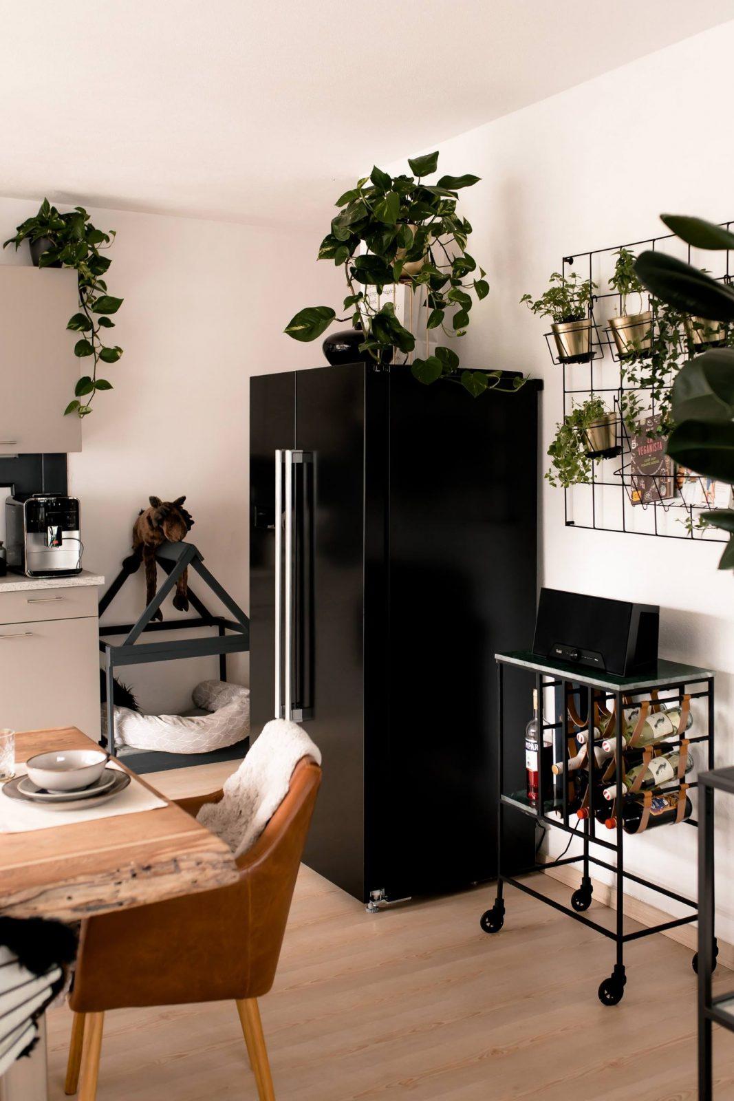 Küche Verschönern Mit Wenig Aufwand Mein Küchenmakeover Inkl von Küchenmöbel Streichen Vorher Nachher Bild