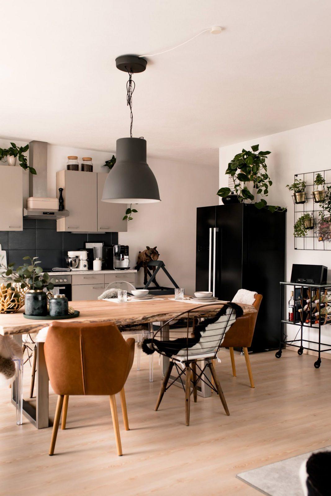Küche Verschönern Mit Wenig Aufwand Mein Küchenmakeover Inkl von Küchenmöbel Streichen Vorher Nachher Photo