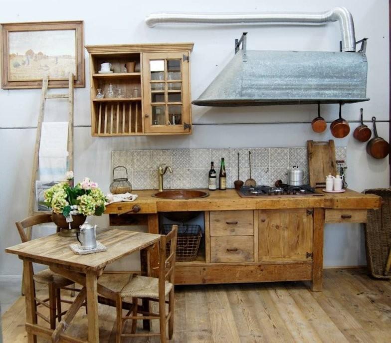 Küche Von Porte Del Passato In 2019  Kitchen  Küchen Rustikal von Rustikale Küche Selber Bauen Bild