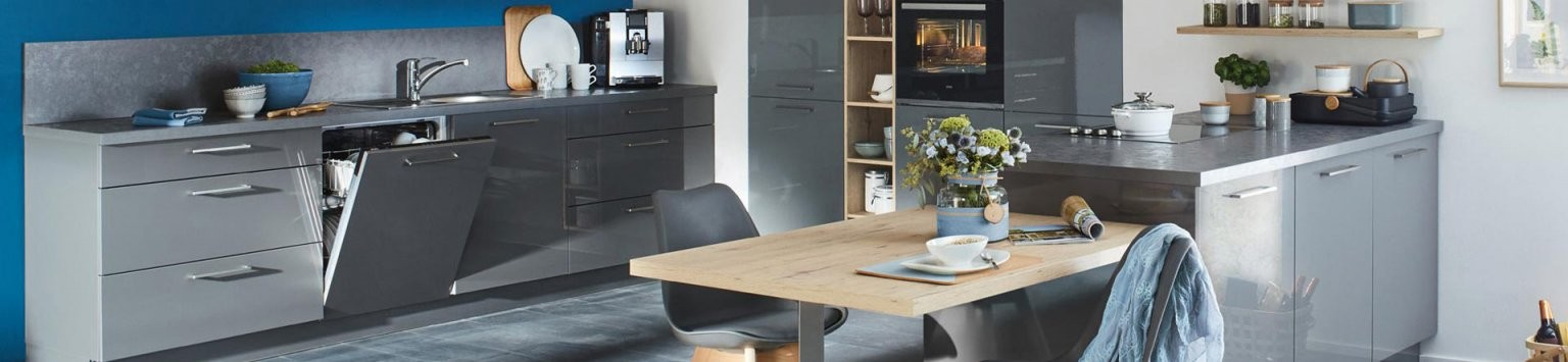 Küchen  Mit Uns Zur Traumküche  Roller Möbelhaus von Küchen In U Form Günstig Bild