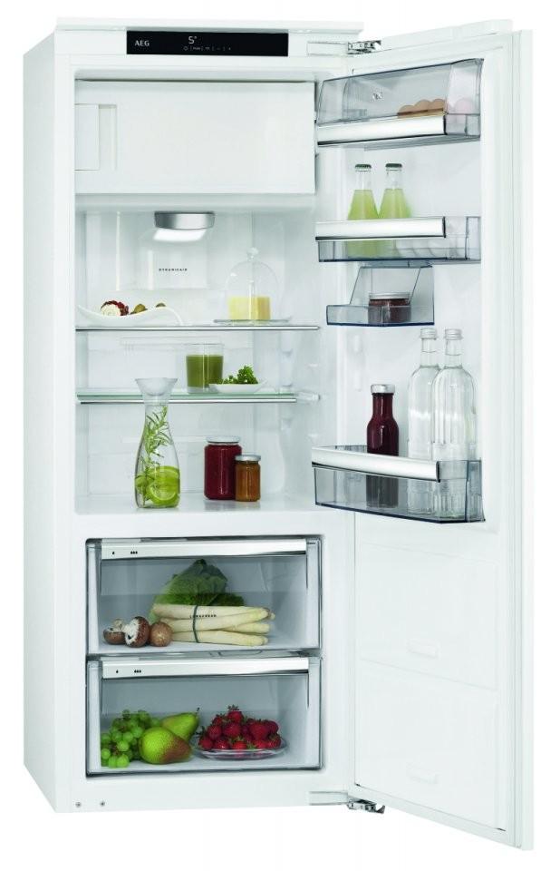 Küchenbauer Gmbh Aeg Sfe81426Zc A++ Einbaukühlschrank Mit von Kühl Gefrierkombination Mit 0 Grad Zone Bild