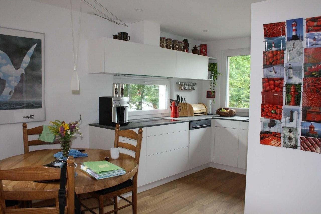 Küchenblog Weisse Küche Mit Roter Dekoration von Dekoration Für Die Küche Photo