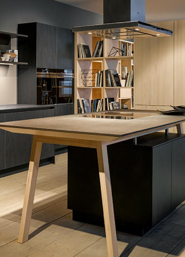 Kücheninsel Maße Wie Groß Sollte Eine Kochinsel Mindestens Sein von Küche Mit Kochinsel Und Tisch Photo