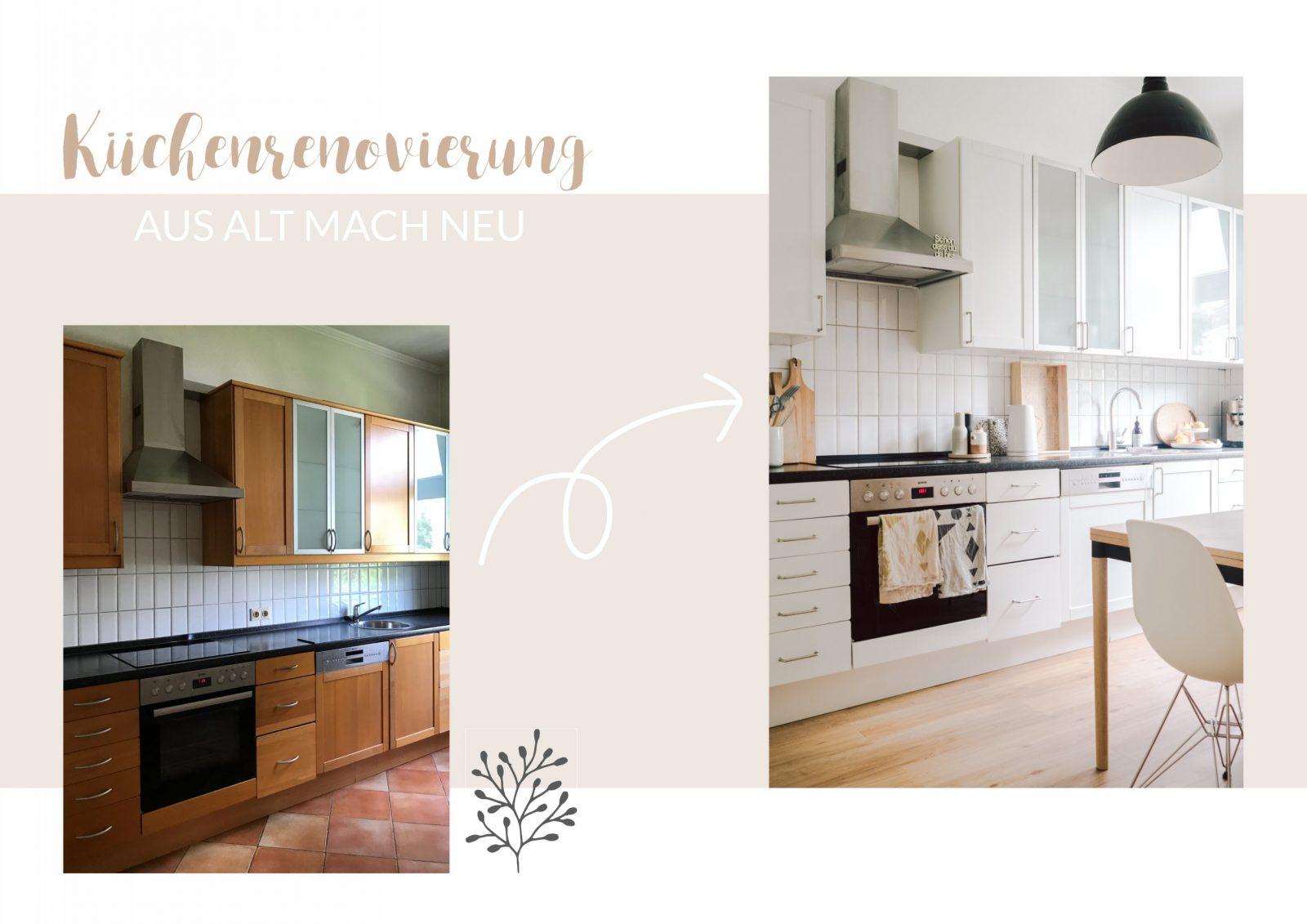 Küchenrenovierung Aus Alt Mach Neu  Paulsvera von Küche Neu Streichen Und Gestalten Photo