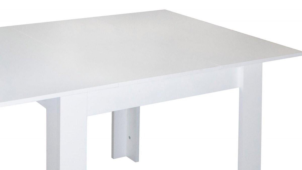 Kuchentisch 80X80 Ausziehbar von Esstisch Weiß Hochglanz 80X80 Ausziehbar Bild
