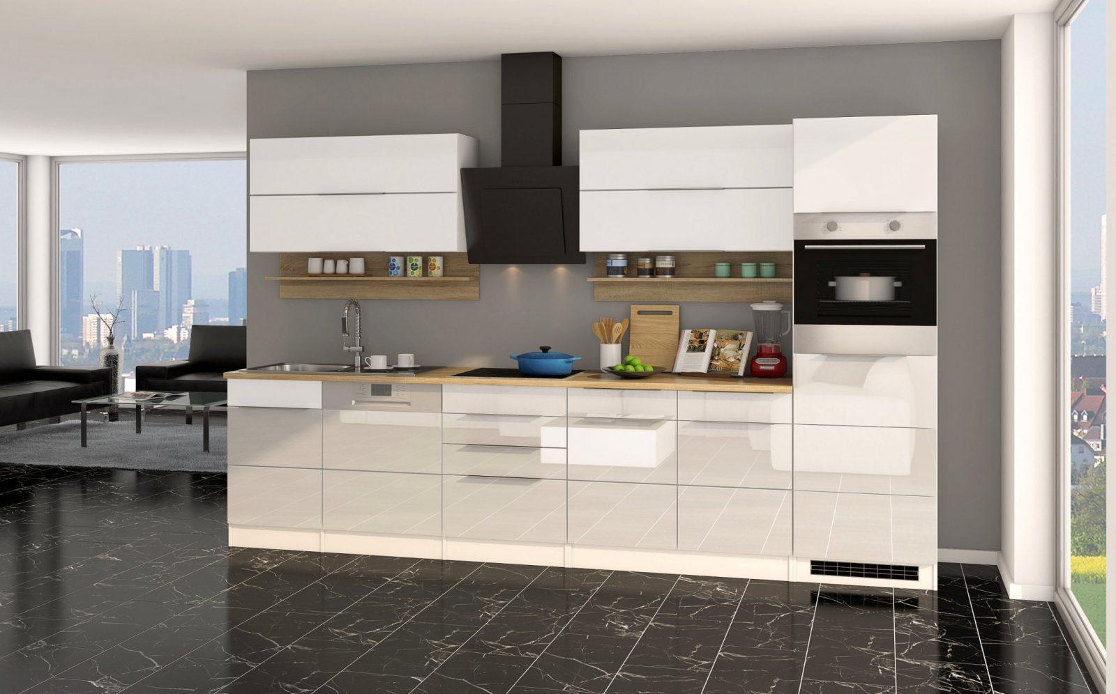 Küchenzeile Hamburg  Küche Mit Egeräten  Breite 330 Cm von Küchenzeile Mit Elektrogeräten Ohne Kühlschrank Bild
