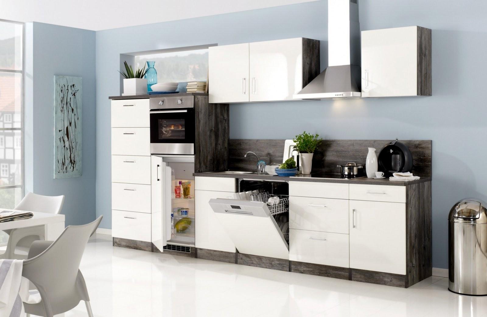 Küchenzeile Lissabon  Küche Mit Egeräten  Breite 340 Cm von Küchen Günstig Mit E Geräten Photo
