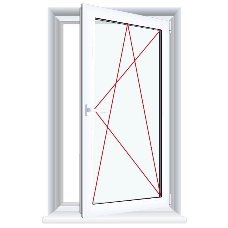 Kunststofffenster Weiß Dreh Kipp 2Fach 3Fach Verglasung Alle von 3 Fach Verglasung Kosten Bild