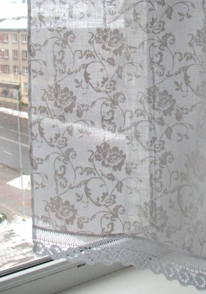 Kurzgardinen Weiß Leinen Gardinen Spitze Cafe von Leinen Gardinen Mit Spitze Bild