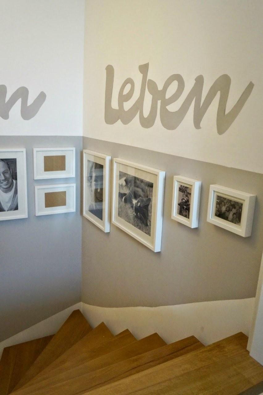 Lachkauz Treppenhaus Makeover  Treppenhaus  Treppe Haus von Farbgestaltung Flur Mit Treppe Bild