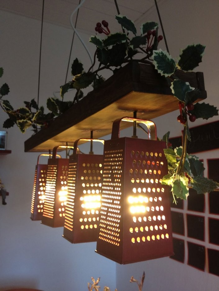 Lampen Selbermachen 20 Diylampenideen Zum Nachbasteln von Do It Yourself Lampenschirm Bild