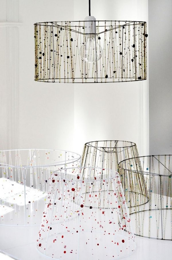 Lampenschirm Für Stehlampe Selber Machen  Ideen Zum Nachmachen von Lampenschirm Gestell Selber Machen Bild