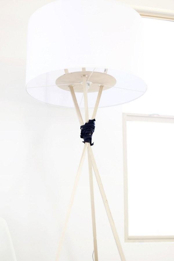 Lampenschirm Für Stehlampe Selber Machen  Ideen Zum Nachmachen von Lampenschirm Gestell Selber Machen Photo