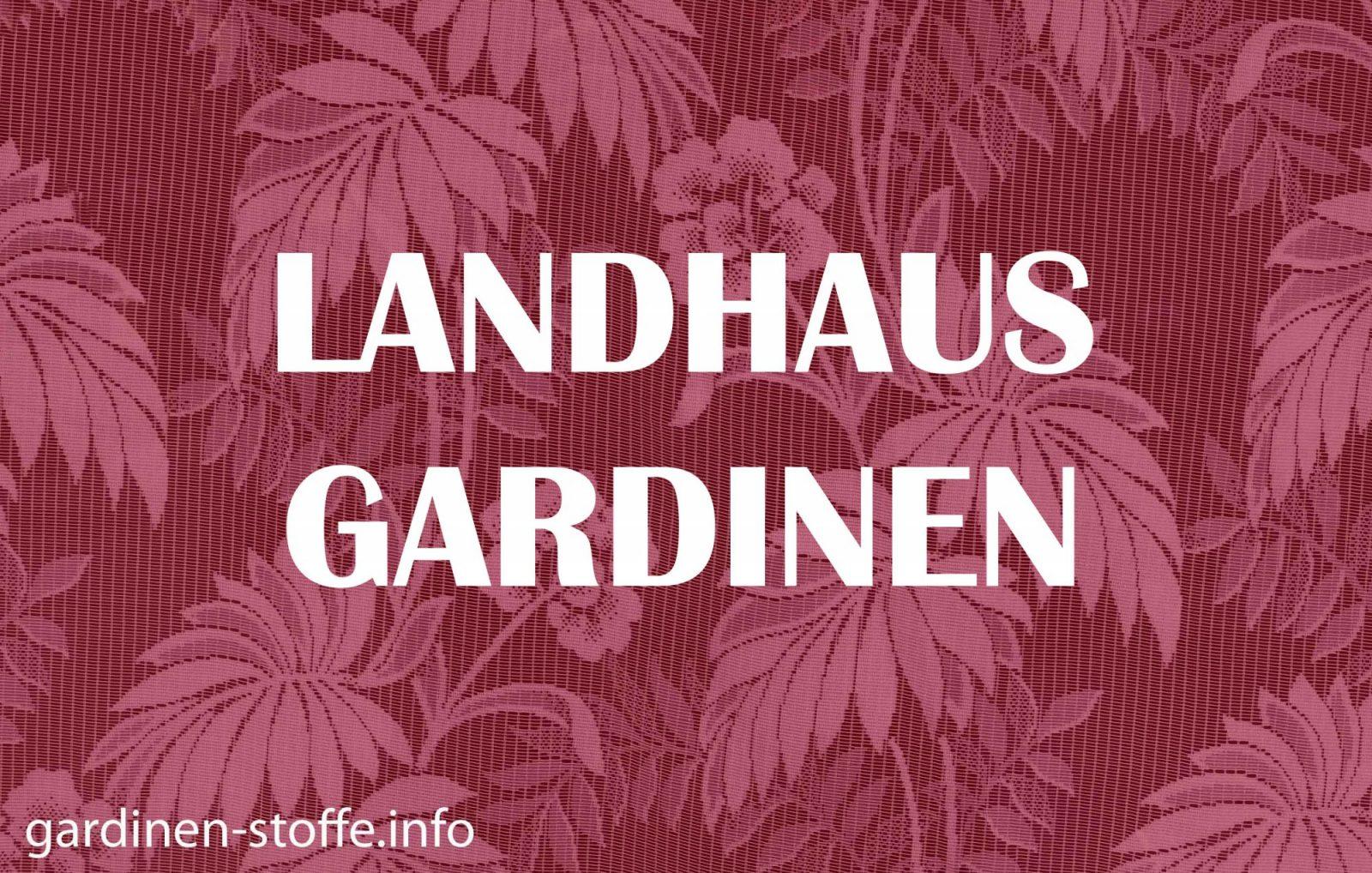 Landhaus Gardinen  Die Richtige Gardine Für Den Vernünftigen Stil von Gardinen Im Landhausstil Selber Nähen Bild